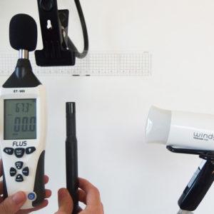 テスコムTU20 温度試験