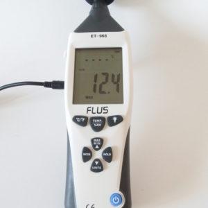 コイズミ KHD-9500 風力試験結果