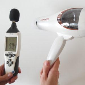 コイズミ モンスターKHD-W710 騒音試験