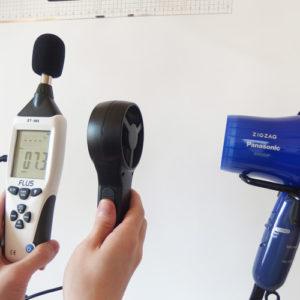 パナソニック EH-5202P 風力試験