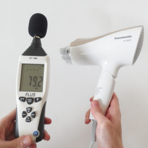 パナソニック EH-NE58 騒音試験