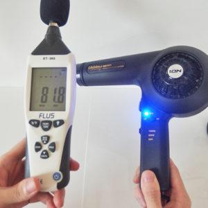 NOBBY NB2503 騒音試験