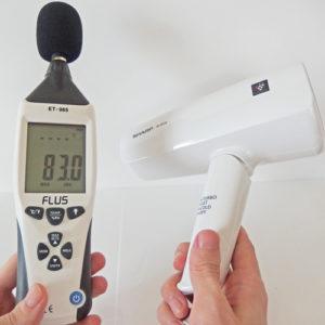 SHARP IB-HD16 騒音試験