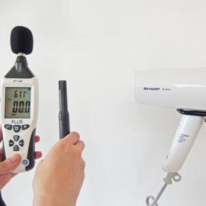 SHARP IB-HD16 温度試験