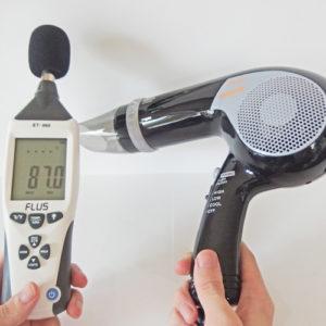 TESCOM TD121 騒音試験